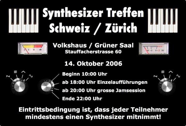 synthesizer treffen schweiz